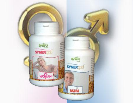 SynerGold Woman & Man pour retrouver le désir et l'énergie.